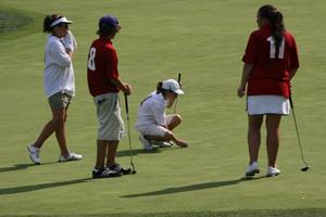 Eagle Ridge PGA  Junior League Golf in action.