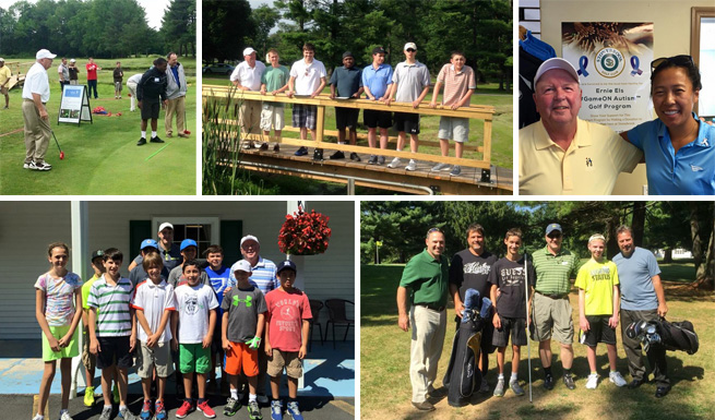 Els for Autism, Stonybrook Junior League, and Middle Atlantic Blind Golfers